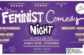 Feminist Comedy Night at Oceanen ★