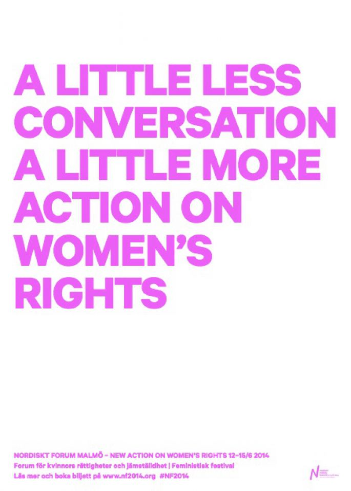 A little less conversation a little more action on women's rights